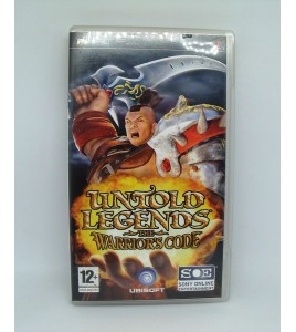 Untold Legends The Warrior's Code sur Psp Playstation Portable  Avec Notice