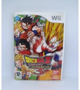 DBZ Budokai Tenkaichi 3 sur Nintendo Wii Sans Notice