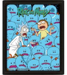Rick & Morty Poster 3D Lenticular Mr Meeseeks 25X20cm