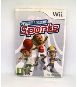Junior league sports sur Nintendo Wii Avec Notice