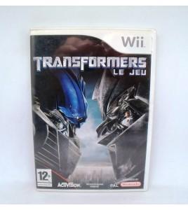 Transformers - le jeu sur Nintendo Wii Sans Notice