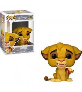 Figurine Pop Le Roi Lion - Pop Vinyl Disney 496 Simba 9 cm