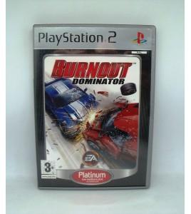 Burnout Dominator Platinum sur PS2 Playstation 2 Avec Notice