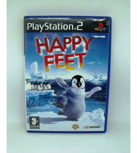 Happy Feet sur PS2 Playstation 2 Avec Notice