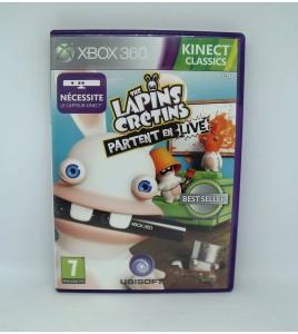 The Lapins Crétins Partent en Live sur Xbox 360 Kinect Avec Notice