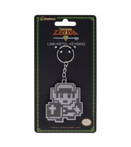 The Legend of Zelda porte-clés métal 8 Bit Link 7 cm
