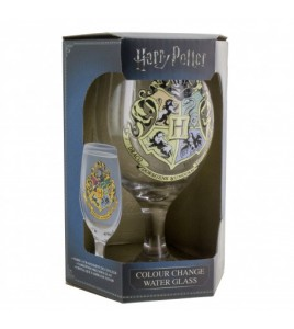 Harry Potter verre changeant de couleur Poudlard