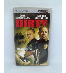 Dirty UMD Vidéo sur Psp Playstation Portable