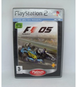Formula One 2005 - Platinum sur PS2 Playstation 2 Sans Notice