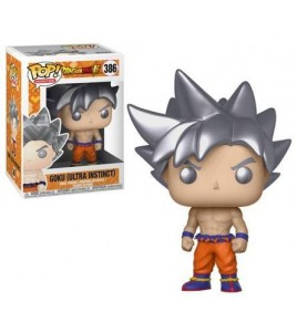 Figurine Pop Dragon Ball Super - Pop Vinyl 386 Goku (Ultra Instinct) 9 cm