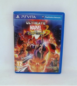Ultimate Marvel vs Capcom 3 : fate of two worlds sur Playstation Vita PS Vita Sans Notice