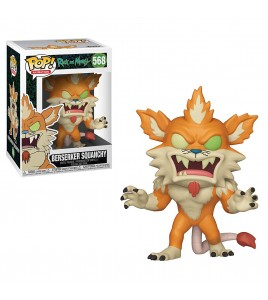 Figurine Pop Rick et Morty - Pop Vinyl 568 Berserker Squanchy 9 cm