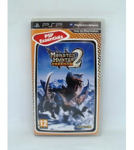 Monster hunter freedom 2 - collection essentiels sur PSP Playstation Portable avec Notice