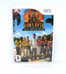 Koh Lanta sur Nintendo Wii avec Notice