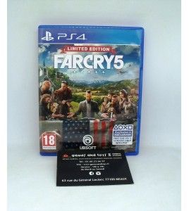 Far Cry 5 Limited Edition sur Playstation 4 PS4 sans Notice
