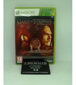 Game of Thrones - le Trône de Fer sur Xbox 360 avec Notice