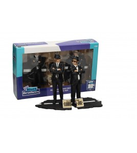 Blues Brothers pack 2 statuettes PVC Movie Icons Jake & Elwood 18 cm