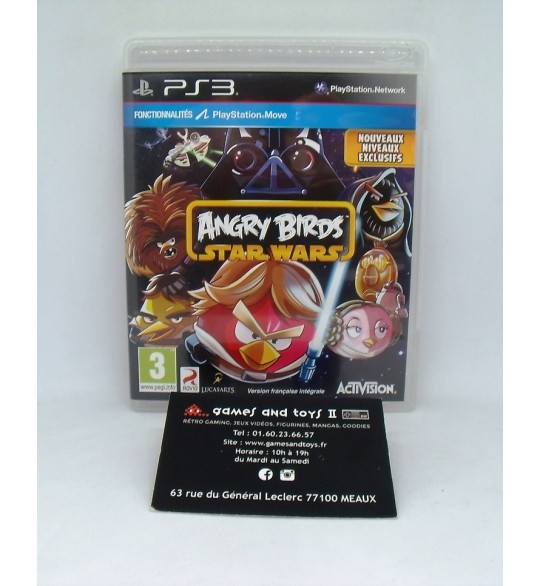 Angry Birds : Star Wars sur Playstation 3 PS3 sans Notice