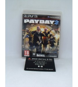 Pay Day 2 sur Playstation 3 PS3 sans Notice