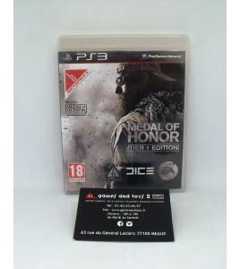 Medal of Honor - édition limitée Tier 1 sur Playstation 3 PS3  avec Notice