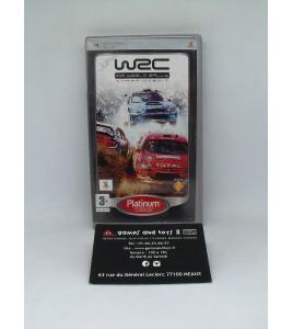 WRC - World Rally Championship Platinum sur Playstation Portable PSP  sans Notice