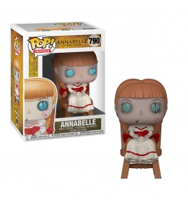Figurine Pop Funko Conjuring : Les Dossiers Warren  - Pop Vinyl 790 Annabelle in Chair 9 cm