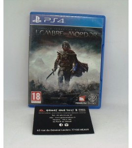 La Terre du Milieu - l'ombre du Mordor sur Playstation 4 PS4 sans Notice