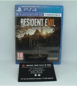 Resident Evil 7: Biohazard  sur Playstation 4 PS4 sans Notice