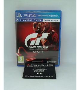 Gran Turismo Sport sur Playstation 4 PS4 sans Notice