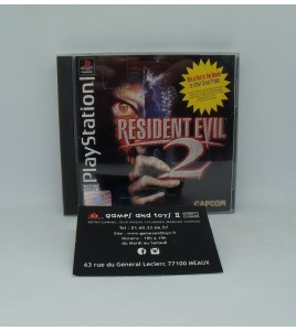 Resident Evil 2 sur Playstation 1 sans Notice