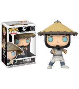 Figurine Pop Mortal Kombat - Pop Vinyl 254 Raiden 9 cm