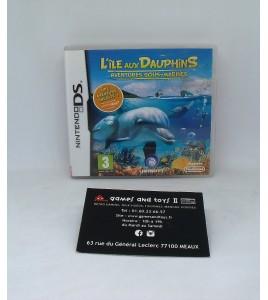 l'île aux dauphins - aventures sous-marines sur Nintendo DS, 2DS & 3DS  avec Notice