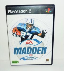 Madden NFL 2001 sur Playstation 2 PS2 avec Notice MA05