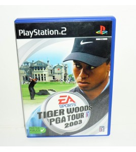 Tiger Woods PGA Tour 2003  sur Playstation 2 PS2 avec Notice MA12