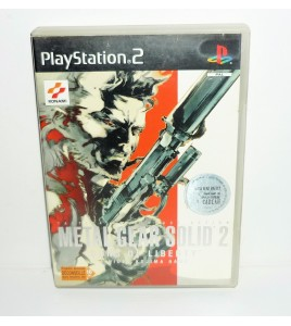 Metal Gear Solid 2 sur Playstation 2 PS2 avec Notice + DVD MA21