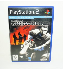 Project : Snowblind sur Playstation 2 PS2 avec Notice MA25