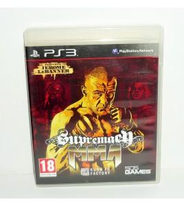 Supremacy MMA sur PS3  avec Notice
