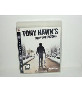 Tony hawk's proving ground sur PS3  avec Notice