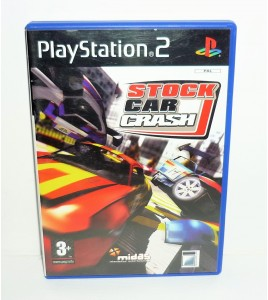 Stock car crash sur Playstation 2 PS2 avec Notice MA32