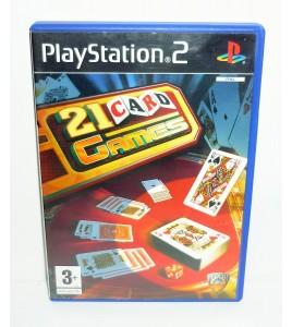21 Card Games (21 jeux de cartes) sur Playstation 2 PS2 avec Notice MA35