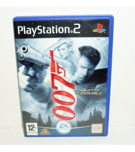 James Bond 007 : Quitte ou Double sur Playstation 2 PS2 avec Notice MA36