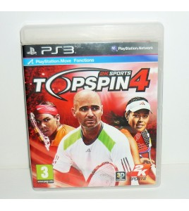 Top Spin 4 sur Playstation 3 PS3 avec Notice MB08