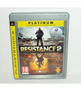 Resistance 2 - édition platinum sur Playstation 3 PS3 avec Notice MB22