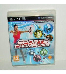 SPORTS CHAMPIONS  sur Playstation 3 PS3 Move avec Notice MB25