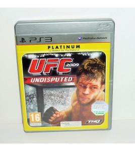 UFC Undisputed 2009 - platinum sur Playstation 3 PS3 avec Notice MB35