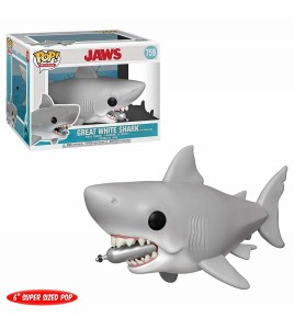 Figurine Pop Funko Les Dents de la mer - Pop Vinyl 759  Jaws with Diving Tank 15 cm
