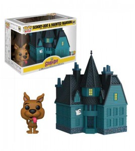 Figurine Pop Funko Scooby Doo - Pop Vinyl 01  Haunted Mansion 9 cm