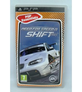 Need for speed : shift  Essentials sur Playstation Portable PSP avec Notice