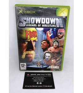 Showdown Legends of wrestling sur Xbox avec Notice MC02