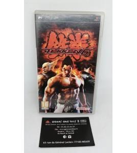 Tekken 6 sur Playstation Portable PSP avec Notice MC12